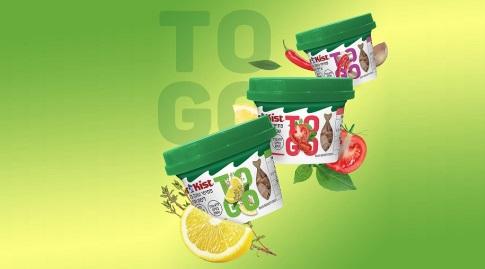 """סטארקיסט TO GO. מכיל 20 גרם חלבון טבעי ביח' ומגיע באריזה המיועדת לאכילה בכל מקום (יח""""צ)"""