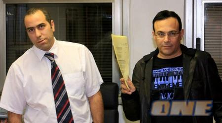 רוני מאנה בפגישה עם פדרמן (ניר בוקסנבאום)