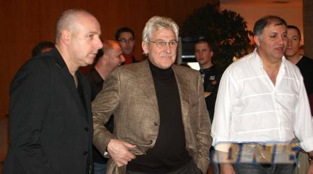 הארי למנס עם רונן קצב ודוד קורן, הערב בפגישה (גבע תלם)