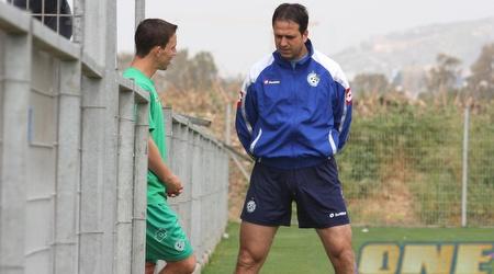 רוני לוי באימון מכבי חיפה (עמית מצפה)