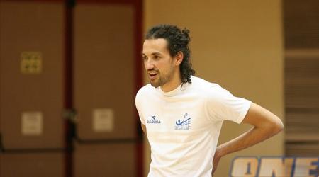 כדורעפן הנבחרת יוחאי דדון חושב על מולדובה (תומר גבאי)