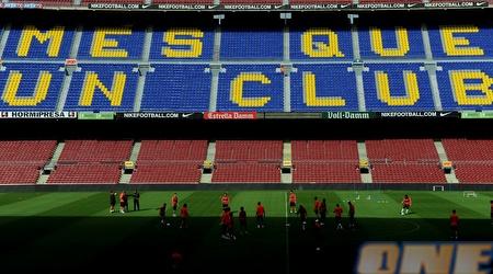שחקני ברצלונה מתכוננים לגמר ליגת האלופות (GettyImages)