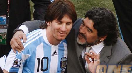 מסי. גם מראדונה יודע כמה הוא חשוב לארגנטינה (רויטרס)