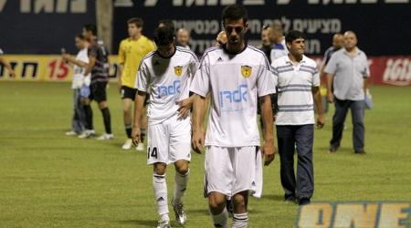 תומר בן יוסף בסיום המשחק (שי לוי)