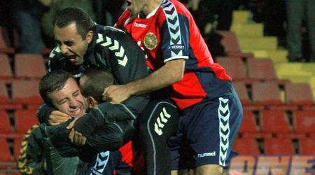 ארמניה חוגגת ניצחון מדהים (רויטרס)