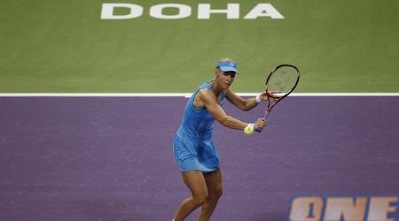 דמנטייבה ברגעיה האחרונים על מגרש הטניס (רויטרס)
