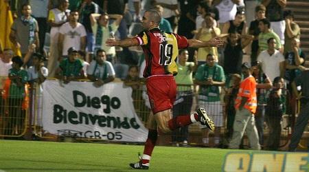שי הולצמן חוגג את שערו מול מכבי חיפה. כבש מול דוידוביץ´ לא פעם