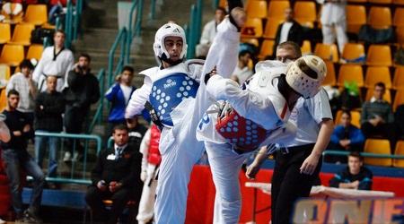 מוטי לוגסי. זכה במדליה לאחר שיריב איראני סירב להתחרות מולו (נועם עפרן)