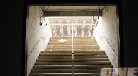 אצטדיון חדש בפתח תקווה. מנהרת השחקנים (מור שאולי)