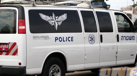 ניידת משטרה. מעצר החשוד הוארך בחמישה ימים (דרור רוזנפלד)