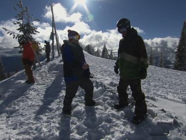 צפו: מאחורי העדשה של פעלולן סקי