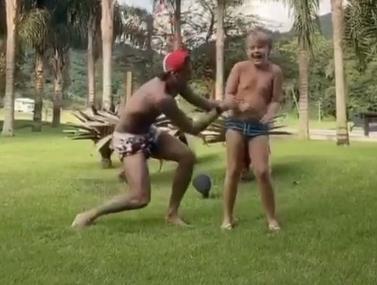 ניימאר והילד באתגר ריקוד חדש