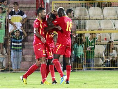 קינדה כובש מול חיפה במהלך קבוצתי