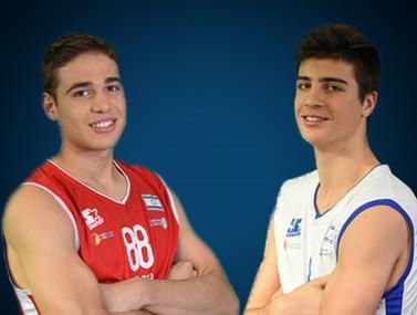 צפו: שני כוכבי העתיד של הכדורסל בישראל