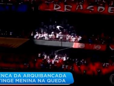רגע לא שגרתי שנגמר במזל גדול מתוך משחק בין סאו פאולו לגרמייו