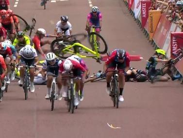 תאונה לא נעימה התרחשה במירוץ של לונדון