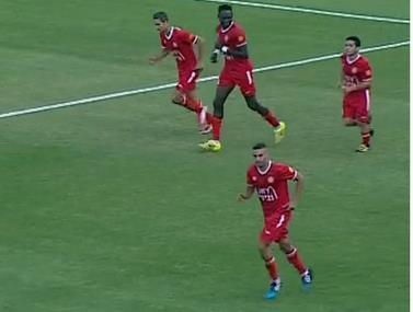 """3:3 להפועל ר""""ג ואשדוד באצטדיון הלאומי"""