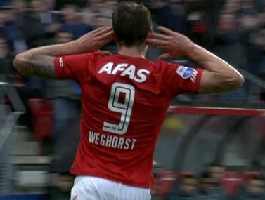 ליגה הולנדית: אייאקס ואלקמאר נפרדו ב-2:2
