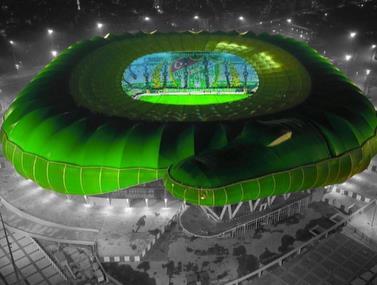 הקבוצה הטורקית מחזיקה באצטדיון בצורת נחש