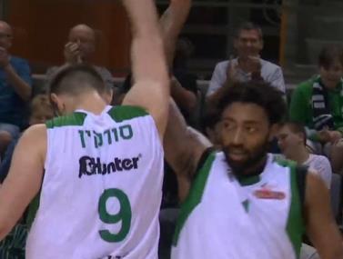 80:91 למכבי חיפה על מכבי אשדוד