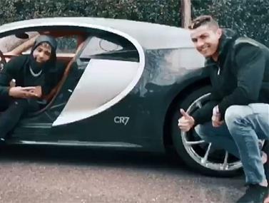 השניים צלמו פרסומת ביחד והמשיכו לרכב