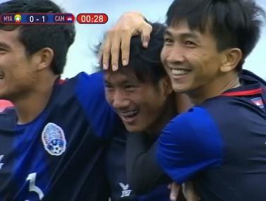 נבחרת קמבודה הצעירה עם שער מהיר במיוחד