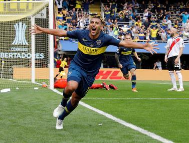 המשחק הראשון בגמר הליברטדורס סיפק כדורגל משובח