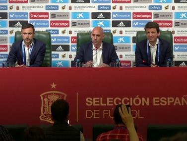 צפו: לופטגי מפוטר מאימון נבחרת ספרד