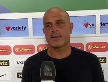 יוסי אבוקסיס לאחר ההפסד למכבי חיפה