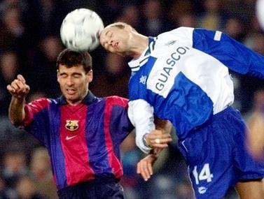 היום לפני 14 שנים, ברצלונה ואספניול נפגשו לדרבי חם במיוחד