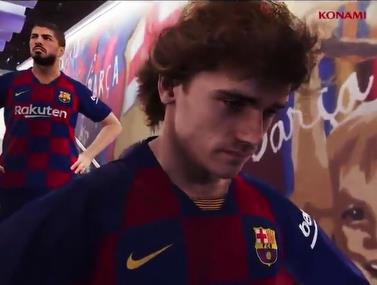 האם כך תראה הבכורה של גריזמן בברצלונה?