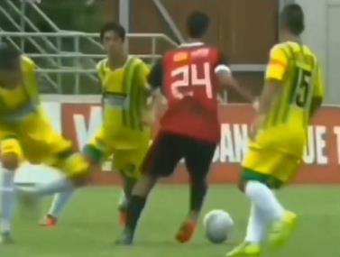 השחקן הקולומביאני שכבש שער נדיר