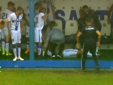 רגע לא נעים בליגת הנוער של ברזיל