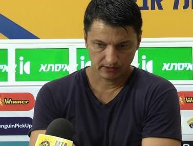 """תגובת איביץ' לאחר המשחק מול ב""""ש"""