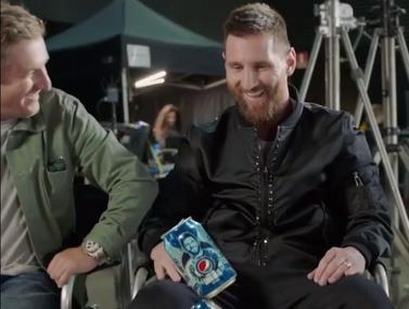 פרסומת חדשה של פפסי ביחד עם ליאו מסי