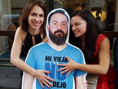 חבייאר אוהד מקסיקו קיבל כרטיס אדום מאשתו