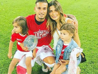 כמעט לכל כדורגלן יש את החלום שהבן יהפוך יום אחד למקצוען