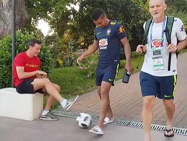 הפריסטיילר לא ריחם על קשרה של נבחרת ברזיל