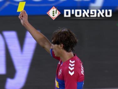 לקח את החוק: השחקן ששלף כרטיס צהוב לשופט