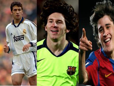 כתבה על השחקנים הצעירים ביותר ששיחקו בקלאסיקו של ספרד