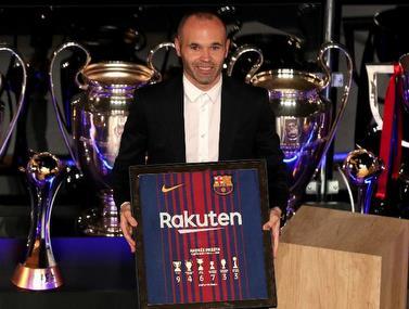 אינייסטה: עבר, הווה ומאמן ברצלונה בעתיד?