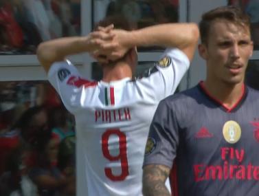 עוד לא מוכנה: מילאן מפסידה 1:0 לבנפיקה