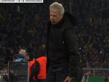 נדיר: המאמן נפצע תוך כדי חגיגות השער
